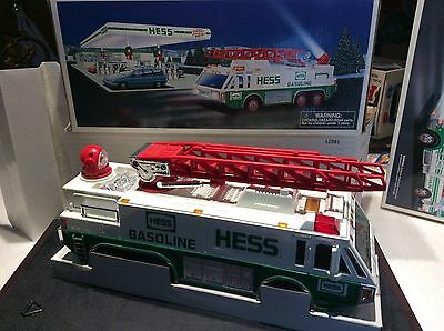 1996 Hess Toy Truck EMERGENCY TRUCK----  HESS GAS TOY TRUCK FIRE TRUCK