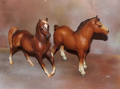 Breyer Model Horse BODY QUALITY, Clydesdale Foal, Love Classic Arabian,