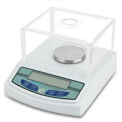 LCD Lab Analytical Balance Digital Precision Smart Scale 300 x 0.001g + Battery