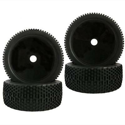 4pcs 1:8 RC Model Off-road Car Buggy 17mm HEX Wheel Rims & Tires Tyre for FS