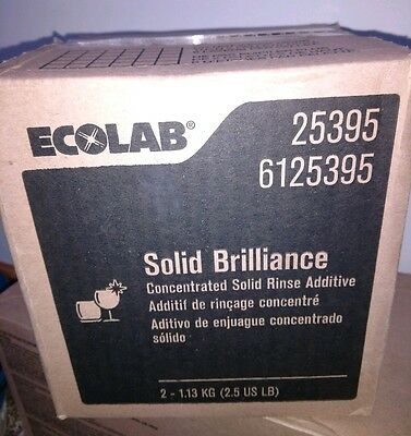 Ecolab #25395 Concentrated Solid Brilliance 2.5 lbs