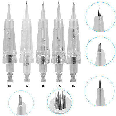 10/20/30 Pcs Disposable Tattoo Cartridge Permanent Makeup Needles R1/R2/R3/R5/R7
