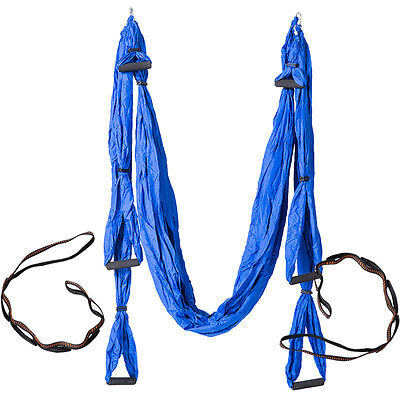 Aerial Yoga Hammock Sets With Fitness Stretch With Parachute Cloth