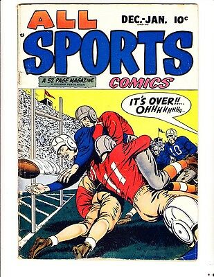 All Sports vol 1, #2 (1949): FREE to combine- in Good condition
