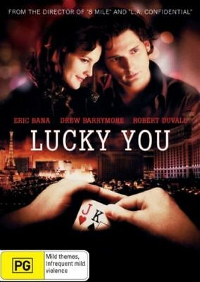 Lucky You (DVD, 2007) Eric Bana Brand New, Genuine & Sealed  - Free Postage D55
