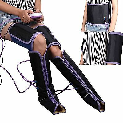 Leg Wrap Air Compression Regular Massager Promote Blood Calf Therapy Circulation
