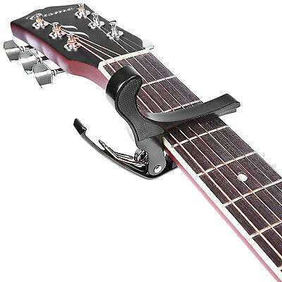 Neewer Quick Change Black Guitar Capo for Acoustic & Electric Guitar