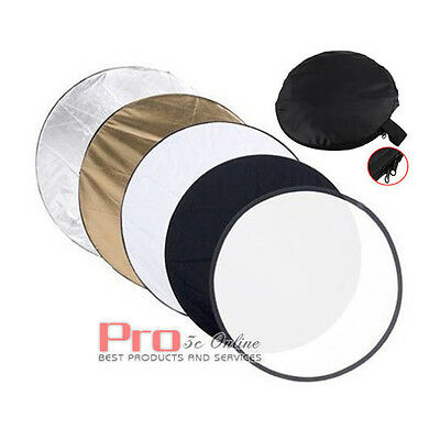 110cm 5-in-1 Multi Lighting Reflector Collapsible Photo Studio Photography 43""