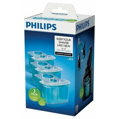 Philips Jc303 Cleaning Cartridge 3Er Reinigungskartusche Für Smartclean System