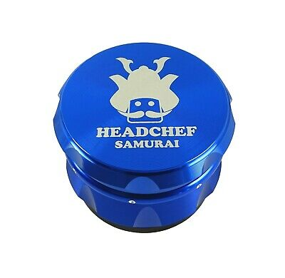 Head Chef Samurai - 55mm Grinder - Blue