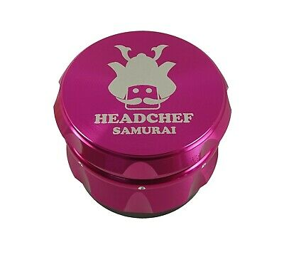 Head Chef Samurai - 55mm Grinder - Pink