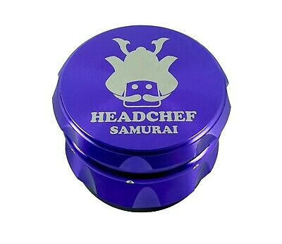 Head Chef Samurai - 55mm Grinder - Purple