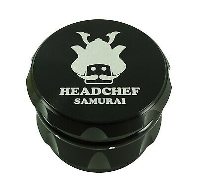 Head Chef Samurai - 55mm Grinder - Black