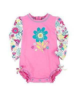 Hatley Baby Girls Sun Protection Swim Suit In 4 Designs