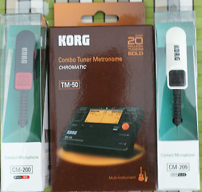 Korg TM50 tuner and CM200 Piezo Clip Mic ideal tuning bagpipe drones chanters