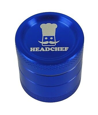 Headchef 30mm 4 piece grinder Blue