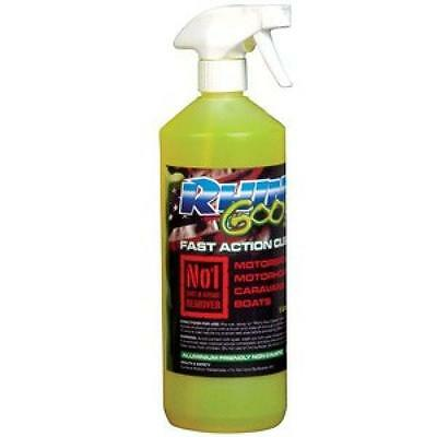Rhino Goo Fast Action Cleaner 1Ltr Motocross/trials/bike/motorhome/boat Wash