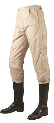 Horseware Lightweight Hunting WATERPROOF OVERTROUSERS OVERBREECHES Beige/White