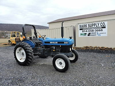 1999 New Holland 3430 Farm Tractor 3 Point Hitch Ford Diesel Engine 8 Speed NICE