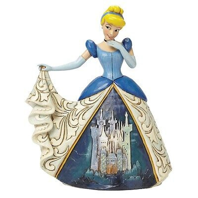 "Disney Traditions Cinderella ""Midnight at The Ball"" Figurine Ornament 4045239"
