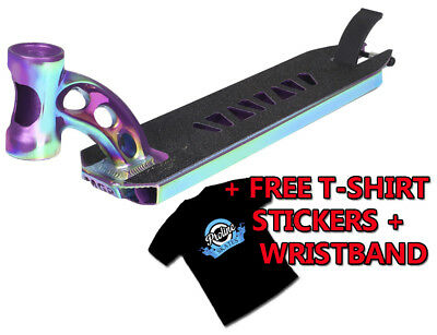 Madd Gear VX7 Extreme Scooter Deck - Neochrome + FREE TSHIRT