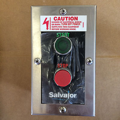 RSS-Remote Salvajor Remote Start/Stop Switch for all Controls