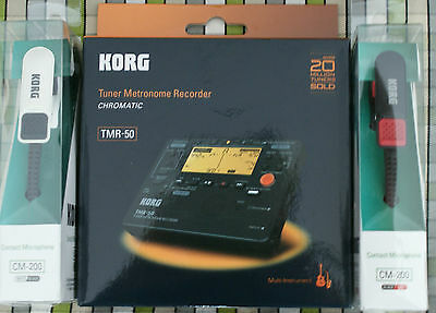 Korg TMR50 tuner and CM200 Piezo Clip Mic ideal tuning bagpipe drones chanters