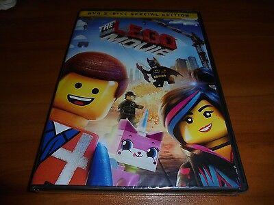 The LEGO Movie (DVD, 2014, 2-Disc Widescreen Special Edition) NEW