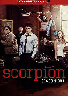 Scorpion: The First Season 1 One (DVD, 2015, 6-Disc Set) Brand New & Sealed!!