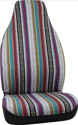 Authentic Mexican Blanket Bohemian Car Seat Covers With Patterns Cute Universal
