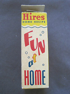 Vintage Hires Root Beer Concentrate Bottle and Box - Fun At Home