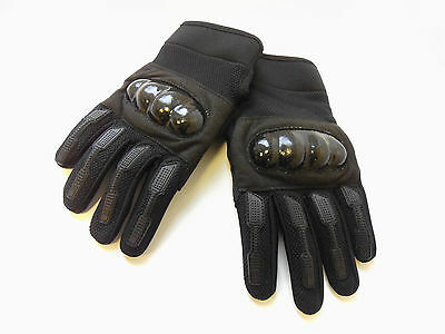 Knuckle Gloves Hard Mens' Black Combat Tactical Gloves Army/security/police/