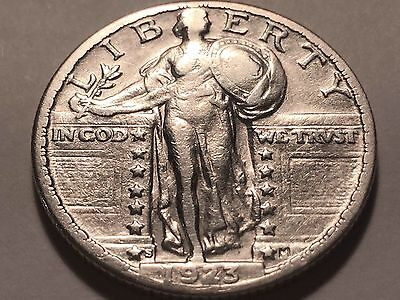 1923-S Standing Liberty Quarter * Select XF  * Key Date with Bold Date