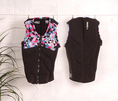 2017 Liquid Force Cardigan Zip Ladies Wakeboard Impact Vest, XS - L. 62335