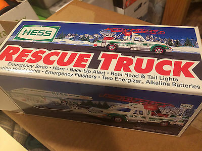 Hess 1994 Toy Rescue Truck - New In Box - Mint