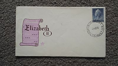 Vintage 1950's Queen Elizabeth 2 Australian First Day Cover - 5Th March 1955