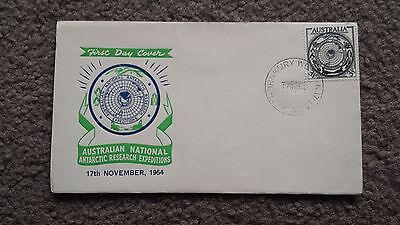 Vintage 1950's Antarctic Territory  Australian First Day Cover - 27Th March 1957