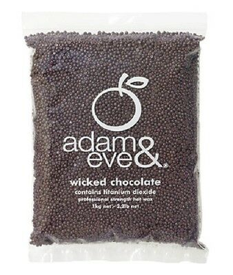 Adam & Eve Premium Wicked Chocolate Beaded Hot Wax 1kg - Waxing Hair Removal