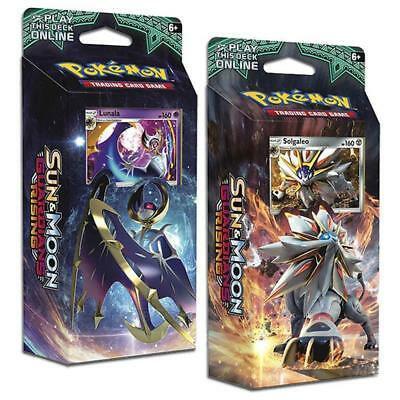 TCG Sun & Moon Guardians Rising Theme Deck - Hidden Moon & Steel Sun