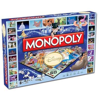 DISNEY Monopoly Collector's Edition Board Game Family Fun Party Game