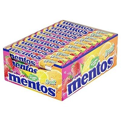 Mentos Fruit Chewy Dragees 40 rolls * 14 pcs