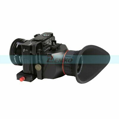 """GGS Swivi S4 3X Foldable Optical Viewfinder 3"""" 16:9 Aspect LCD for Video Camera"""