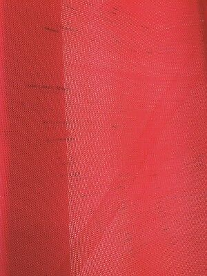 *SPECIAL* Architectural Shadecloth 425GSM Red 3M x 40M- stains