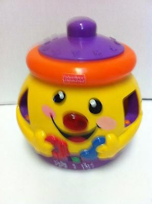 Fisher Price Cookie Jar Musical Counting Sensory Shape Sorter, Complete