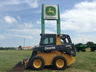 2012 John Deere 326D Skid Steer Loaders