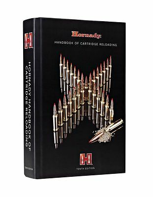 10th Edition Handbook Manual Hornady  Reloading 1,000 Pages Cartridge