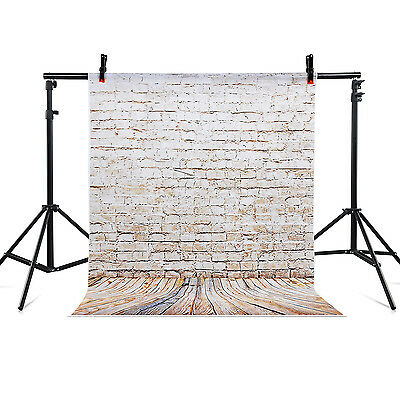 5x7 ft Photography Backdrop Stand Studio Background Wall Wood for Photo Film