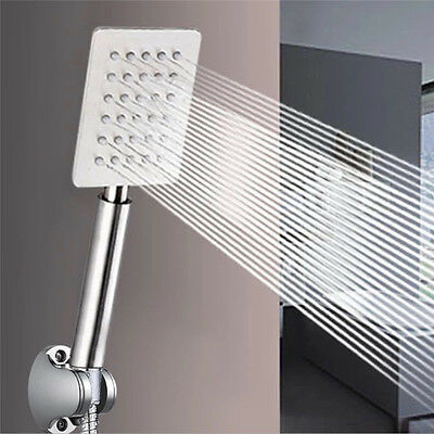 Stainless Steel Shower Heads Home Bathroom Pressure Boost Nozzle Shower Head New