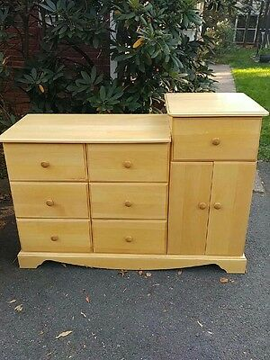 Pali Solid Wood dresser changing table - Pick up only