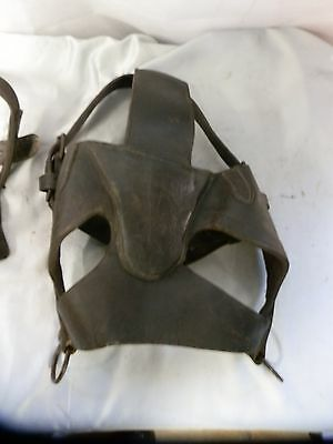 Vintage Colliery Leather Pony Horse Bridle. And Harness (Pit Pony)